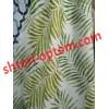 Лен блекаут папоротник  зеленый